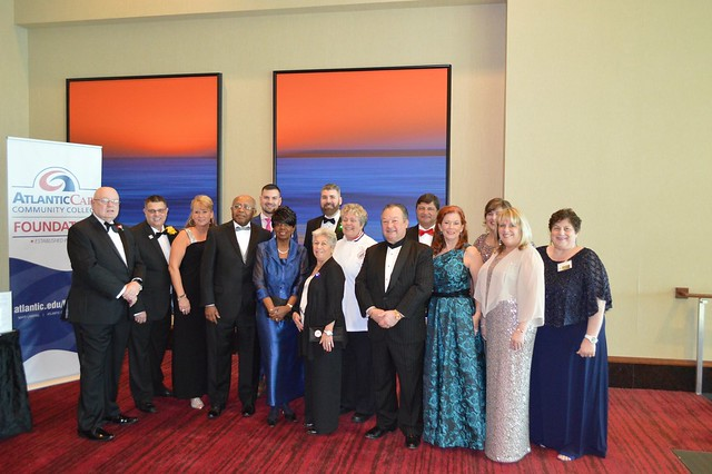 foundation members at the gala