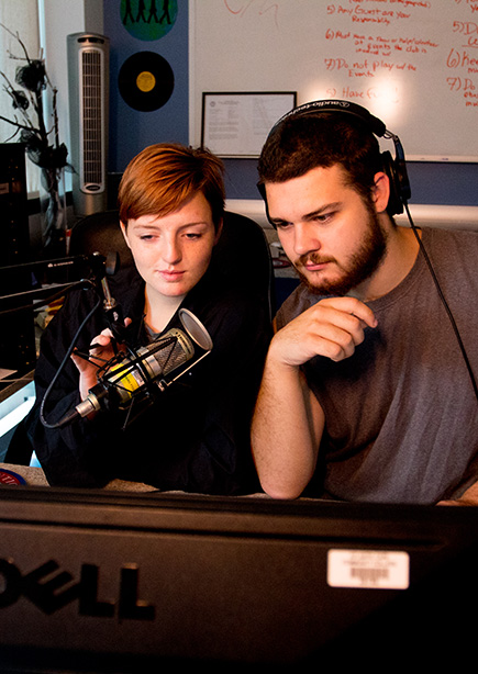 Students in Radio Club